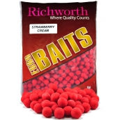 "Бойлы Richworth Euro Baits ""STRAWBERRY CREAM""(клубничный крем)"