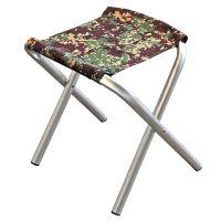 Складной стул без спинки - Сумы - Алюминий - Цифра - до 80 кг