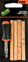 Набор Fox EDGES Bait Drill & Cork Sticks (Сверло и пробковые вставки)