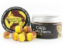 Бойлы pop-up Carp Catchers «Sweetcorn&Tiger Nut» 14mm