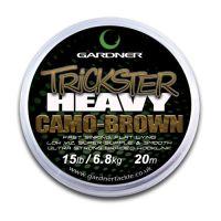 Поводочный материал Gardner TRICKSTER HEAVY CAMO - 20 метров