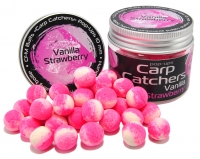 Бойлы pop-up Carp Catchers «Vanilla Strawberry» 10mm