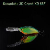 Воблер Kosadaka 3D Crank XD 65F