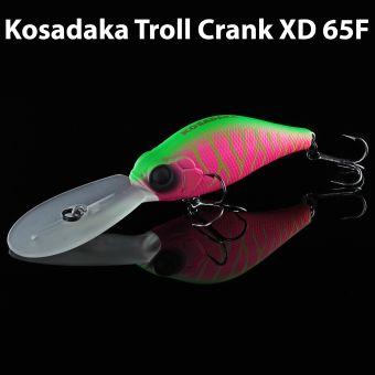 Воблер Kosadaka TROLL CRANK XD 65F