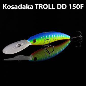 Воблер Kosadaka TROLL DD 150F