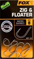 FOX крючки для зиг-рига EDGES Zig & Floater